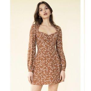 Sisterhood Long Sleeve 60's style Dress